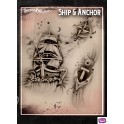 Tattoo Pro Ship & Anchor