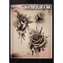 Tattoo Pro Watercolor & Ink Splat