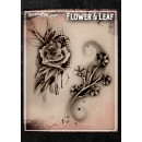 Tattoo Pro Flower & Leaf