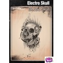Tattoo Pro Electro Skull