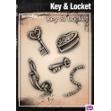 Tattoo Pro Key & Locket