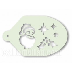 Facepaint Stencil Kerstmis