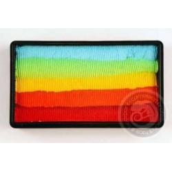 Colorblock Rainbow WOW
