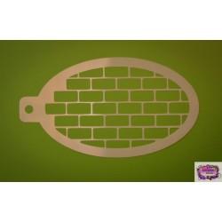 Wicked Stencil Bricks