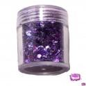 Festival Glitter Mix Purple