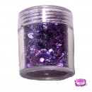 Festival Glitter Mix Purple