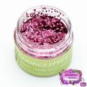 Bio Glitter Rose Pink - Chunky