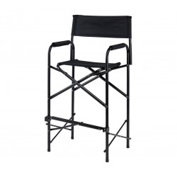 Professional Folding Make-up Chair Black