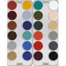 Kryolan Supracolor Greasepaint Pallet 24 kleuren - K