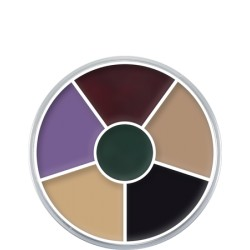 Kryolan Cream Color Circle - Black Eye