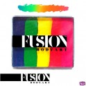 Fusion Rainbow Cake - Neon Rainbow