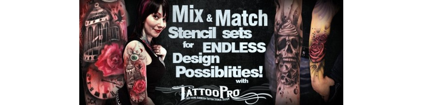 Airbrush Tattoo Stencils