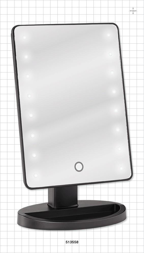 Miroir de table avec lumi re led facepaint online for Miroir des joyaux