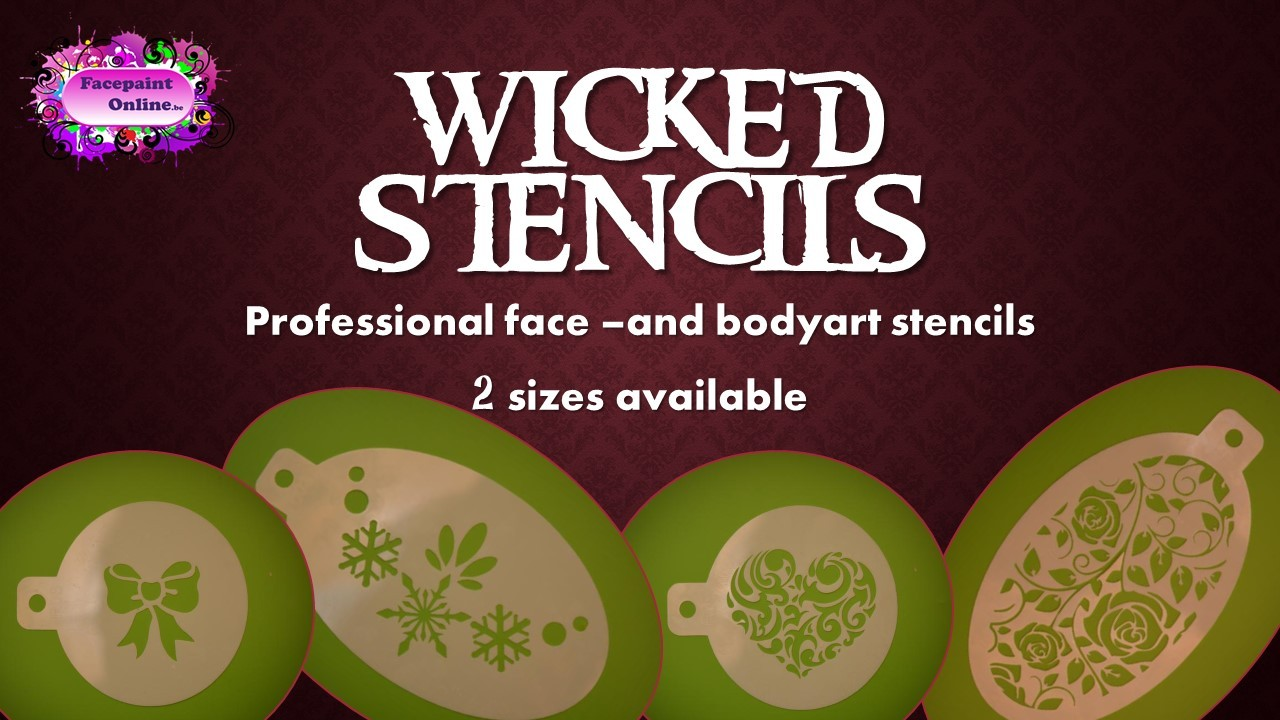 Wicked Stencils at FacepaintOnline