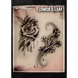 Tattoo Pro Flower & Leaf